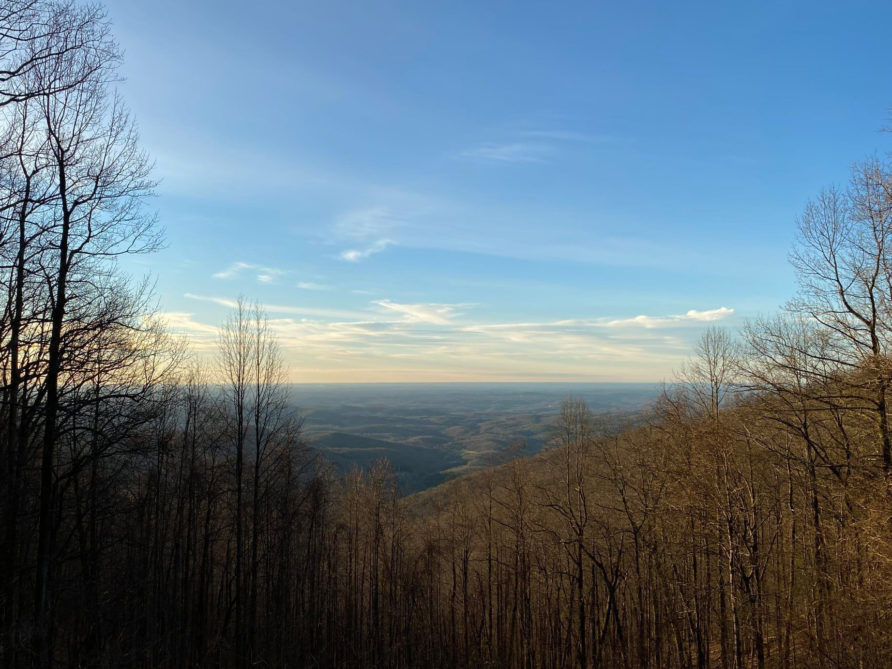 Above The Clouds View of Woody Gap